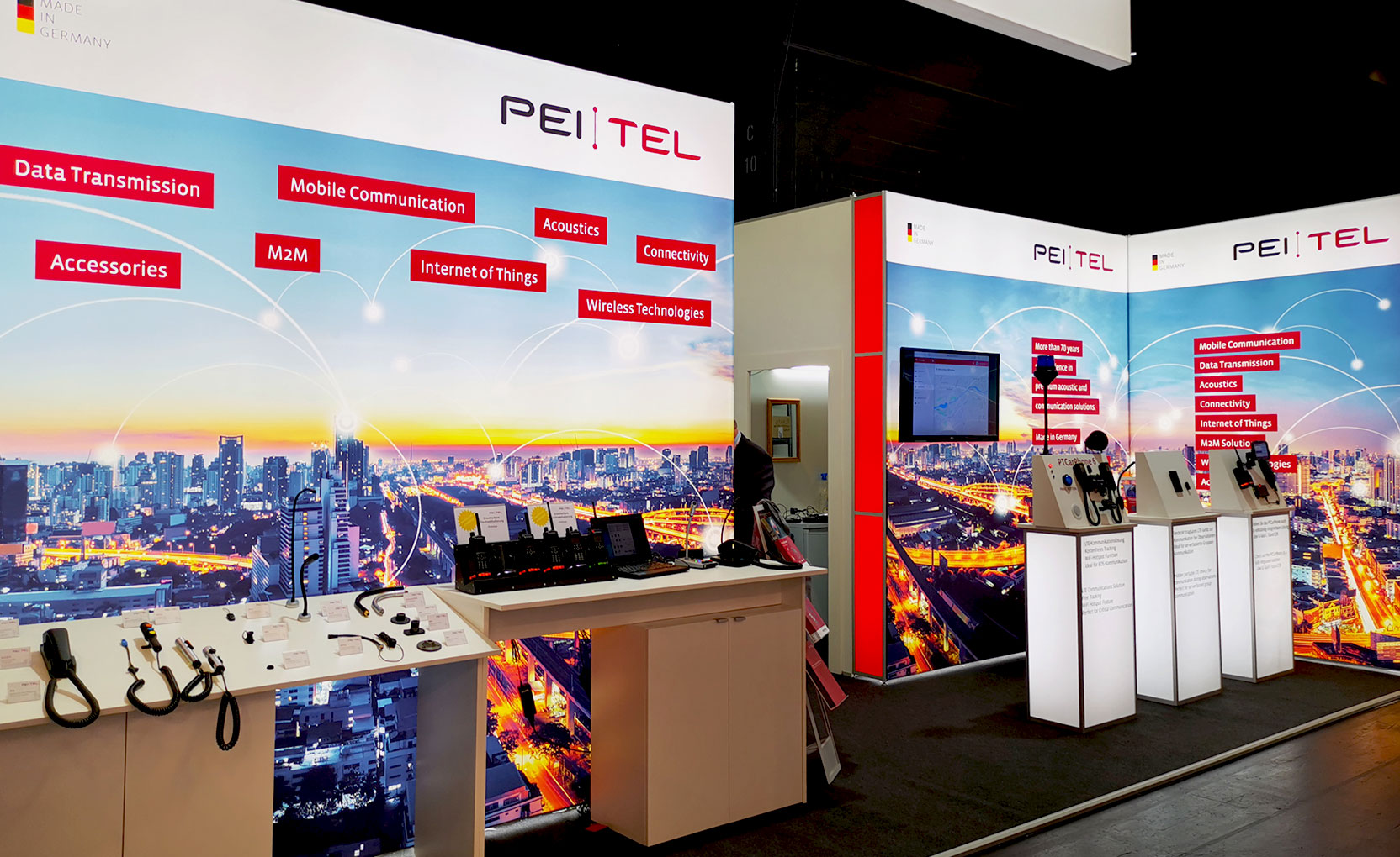 pei tel Messestand